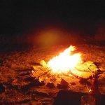 il fuoco la sera