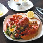 Local lobster at The Cafe Bar