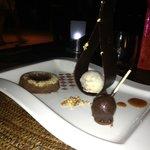 Le dessert chocolat...