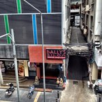 Front facade of Bally's Studio Silom from the BTS walkway