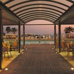 Pool Restaurant Evening