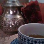 Mint tea made by Aziz