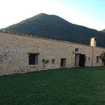 Casa della Roccia vu du jardin de la chambre du haut
