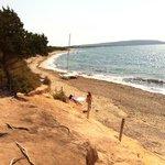 se volete solo il rumore del mare e nessun altra cosa, questa è la spiaggia. fantastica!!!