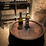 こんな感じでワインが置かれている。