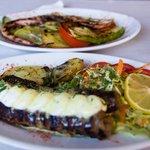 meal at Kapari taverna