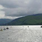 Loch Eil, right across the street
