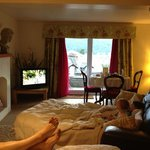 Chilling in the Rydal Suite!