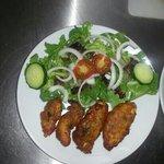 mmm chicken pakora :)