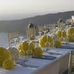 Luxury wedding reception decoration