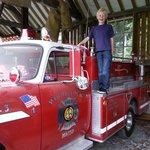 fire engine - every little boy's dream