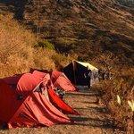 Campsite above Chiccisqa