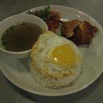 Some chicken rice...