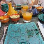 rijkelijk ontbijt