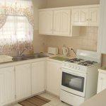 Standard 2 bedroom kitchen area