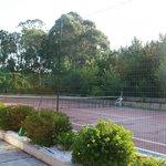 Pista de tenis gratis