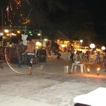 Пляж Хаад Рин ночью :)