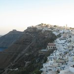 View of Fira from our balcony