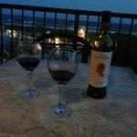 Wine on deck!