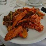Main meal - Caribbean buffet
