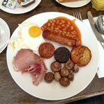Full Irish breakfast at Epic Restaurant