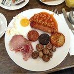 Full Irish breakfast at Epic Restaurant