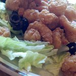 Fried Shrimp from the bar...YUM!