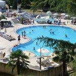 Pool area Hotel Zagreb
