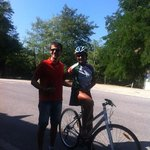 Elena and Pierro - our guide and driver