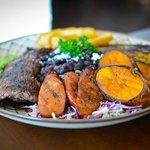 Churrascos! Chef Tony's Signature Dish! Grilled Skirt Steak, Chicken Breast & Brazilian Sausage