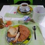 Colazione al tavolo
