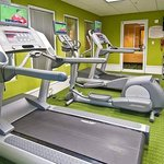 Keep up your exercise routine in our Fitness Center