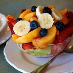 Fresh Fruit Bowl - Seasonal fruit from local farms
