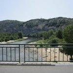 une partie des gorges de l'Ardèche
