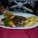 Dinner serving