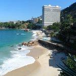 Praia do Vidigal and Sheraton Hotel