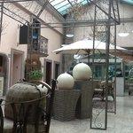 lobby tot entree bar en restaurant