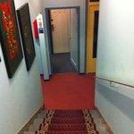 depressing hall way