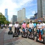 Urban Real Estate rides Segway!
