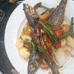 Honey glazed mackerel
