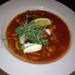 Cod chickpea and chorizo stew