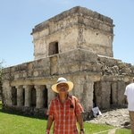 My Indiana Jones and the Crystal skull moment at the  Ruins of Tulum