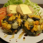 Milansesas de Soja con Ratatouille de Verduras