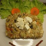 Paella vegetariana con Tofu