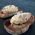 Pretty nice salmon amuse-bouche