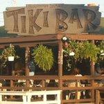 Tiki Bar in daylight