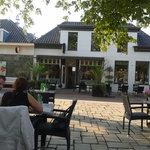 outsite restaurant from the terrace