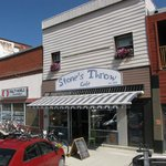 Find us on sunny, main street in Blairmore in the Crowsnest Pass!