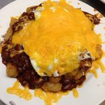 Mexican Tater Tot Breakfast Tower