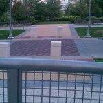 park adjacent to hotel
